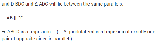 NCERT Solutions for Class 9 Maths Chapter 9 Areas of Parallelograms and Triangles Ex 9.3 A16.1