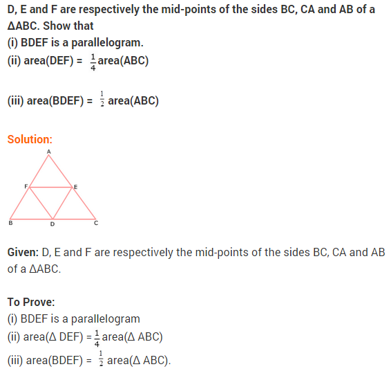 NCERT Solutions for Class 9 Maths Chapter 9 Areas of Parallelograms and Triangles Ex 9.3 A5