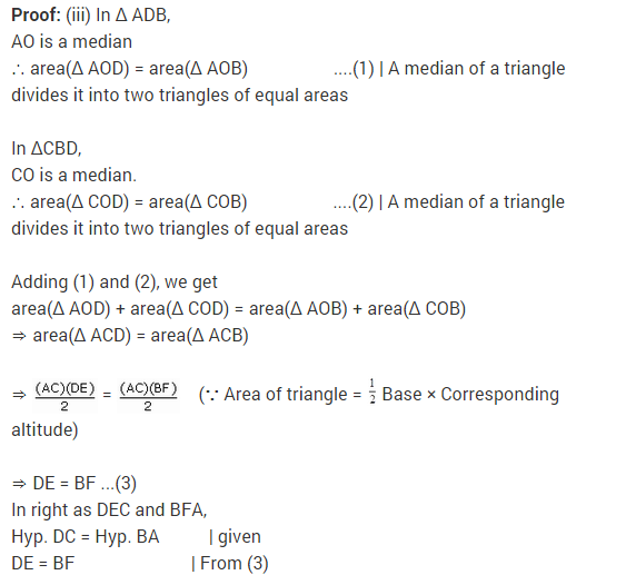 NCERT Solutions for Class 9 Maths Chapter 9 Areas of Parallelograms and Triangles Ex 9.3 A6.1