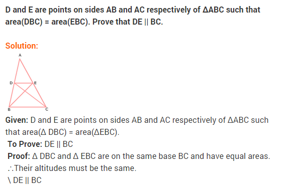 NCERT Solutions for Class 9 Maths Chapter 9 Areas of Parallelograms and Triangles Ex 9.3 A7