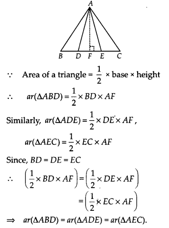 NCERT Solutions for Class 9 Maths Chapter 9 Areas of Parallelograms and Triangles Ex 9.4 Q2.1