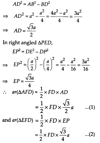 NCERT Solutions for Class 9 Maths Chapter 9 Areas of Parallelograms and Triangles Ex 9.4 Q5.2