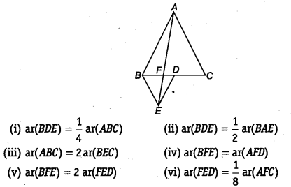 NCERT Solutions for Class 9 Maths Chapter 9 Areas of Parallelograms and Triangles Ex 9.4 Q5
