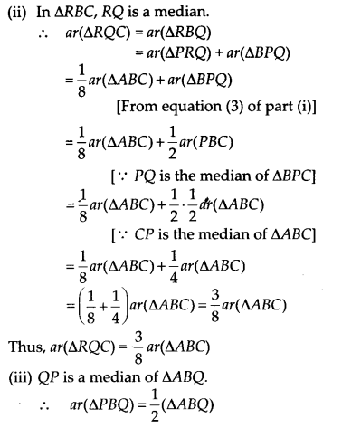 NCERT Solutions for Class 9 Maths Chapter 9 Areas of Parallelograms and Triangles Ex 9.4 Q7.3