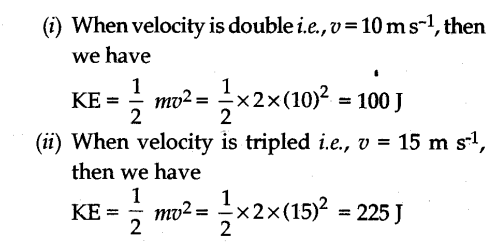 NCERT Solutions for Class 9 Science Chapter 11 Work Power and Energy Page 152 Q3.1