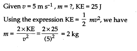 NCERT Solutions for Class 9 Science Chapter 11 Work Power and Energy Page 152 Q3