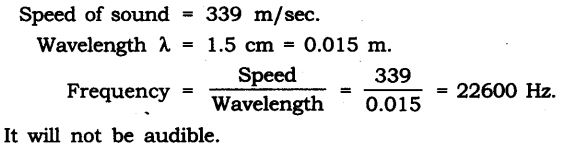 NCERT Solutions for Class 9 Science Chapter 12 Sound Extra Questions Q14