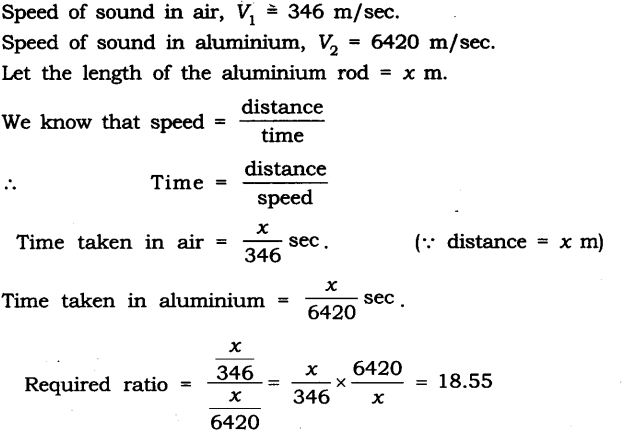 NCERT Solutions for Class 9 Science Chapter 12 Sound Extra Questions Q8