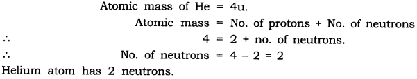 NCERT Solutions for Class 9 Science Chapter 4 Structure of Atom Intext QUestions Page 49 Q2