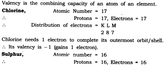NCERT Solutions for Class 9 Science Chapter 4 Structure of Atom Intext QUestions Page 52 Q1