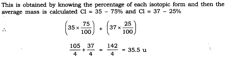 NCERT Solutions for Class 9 Science Chapter 4 Structure of Atom SAQ Q11