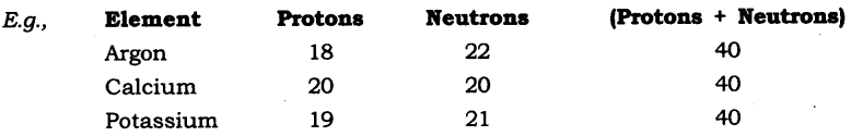 NCERT Solutions for Class 9 Science Chapter 4 Structure of Atom SAQ Q8