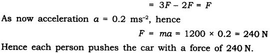 NCERT Solutions for Class 9 Science Chapter 9 Force and Laws of Motion Additional Exercises Q2