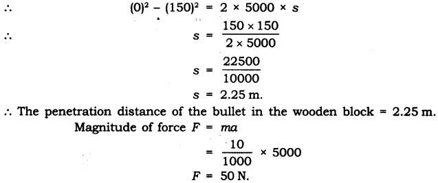NCERT Solutions for Class 9 Science Chapter 9 Force and Laws of Motion Extra Questions Q14.1