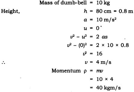 NCERT Solutions for Class 9 Science Chapter 9 Force and Laws of Motion Extra Questions Q18
