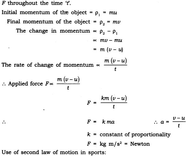 NCERT Solutions for Class 9 Science Chapter 9 Force and Laws of Motion LAQ Q1