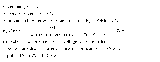 Frank ICSE Class 10 Physics Solutions Current Electricity 20