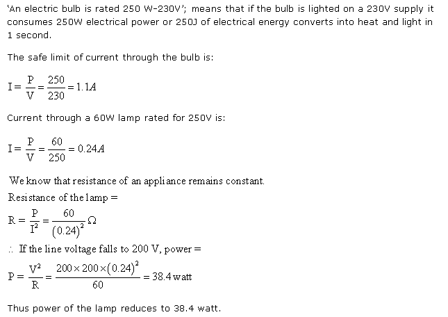 Frank ICSE Class 10 Physics Solutions Current Electricity 34
