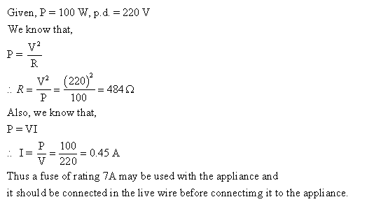 Frank ICSE Class 10 Physics Solutions Current Electricity 39