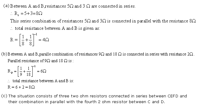 Frank ICSE Class 10 Physics Solutions Current Electricity 48