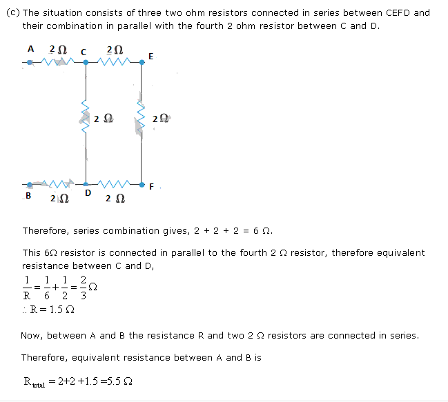 Frank ICSE Class 10 Physics Solutions Current Electricity 49