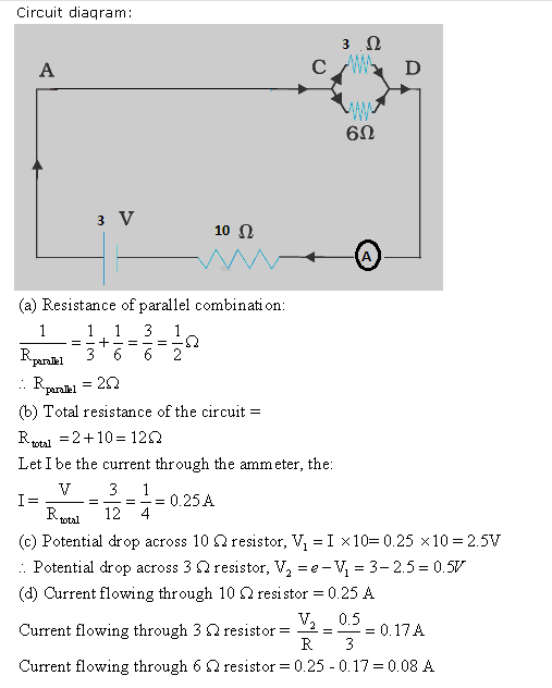 Frank ICSE Class 10 Physics Solutions Current Electricity 54