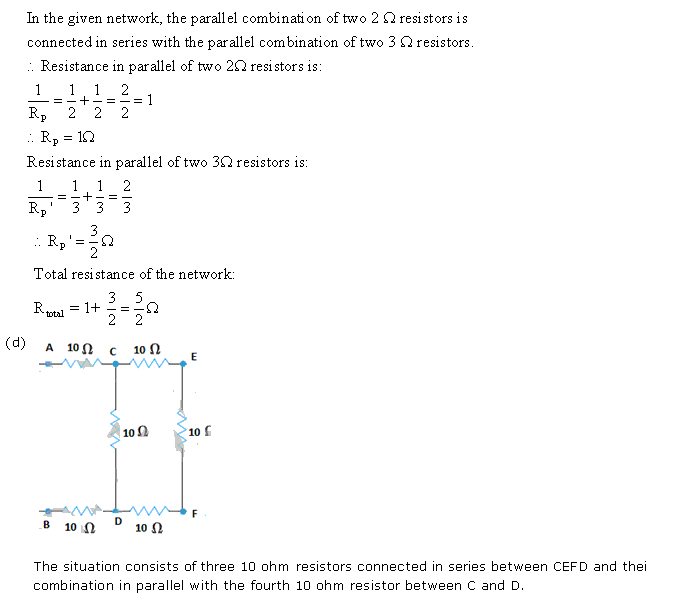 Frank ICSE Class 10 Physics Solutions Current Electricity 56