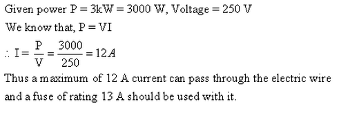 Frank ICSE Class 10 Physics Solutions Current Electricity 66