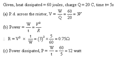 Frank ICSE Class 10 Physics Solutions Current Electricity 7