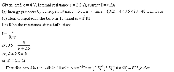 Frank ICSE Class 10 Physics Solutions Current Electricity 72