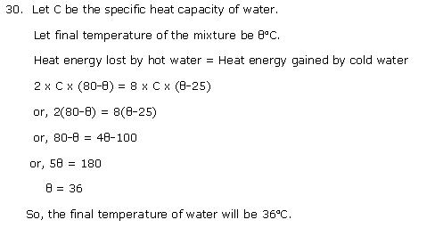 Frank ICSE Class 10 Physics Solutions Heat Calorimetry 11