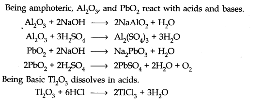 NCERT Solutions for Class 11 Chemistry Chapter 11 The p-Block Elements Q26.1