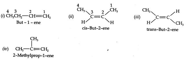 NCERT Solutions for Class 11 Chemistry Chapter 13 Hydrocarbons Q3