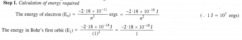 NCERT Solutions for Class 11 Chemistry Chapter 2 Structure of Atom Q18