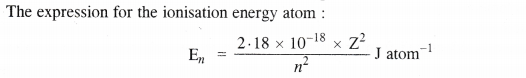 NCERT Solutions for Class 11 Chemistry Chapter 2 Structure of Atom Q34