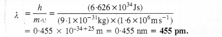 NCERT Solutions for Class 11 Chemistry Chapter 2 Structure of Atom Q57
