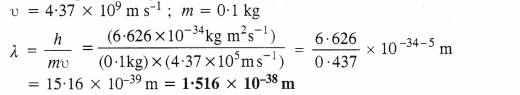 NCERT Solutions for Class 11 Chemistry Chapter 2 Structure of Atom Q60