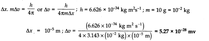 NCERT Solutions for Class 11 Chemistry Chapter 2 Structure of Atom SAQ Q1