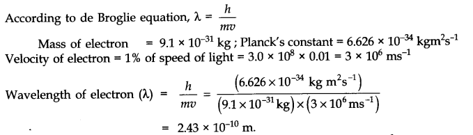 NCERT Solutions for Class 11 Chemistry Chapter 2 Structure of Atom SAQ Q5
