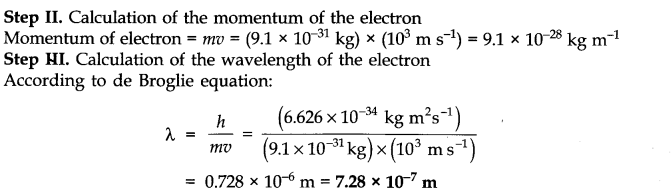 NCERT Solutions for Class 11 Chemistry Chapter 2 Structure of Atom SAQ Q6.1