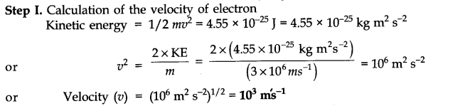 NCERT Solutions for Class 11 Chemistry Chapter 2 Structure of Atom SAQ Q6