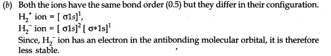 NCERT Solutions for Class 11 Chemistry Chapter 4 Chemical Bonding and Molecular Structure LAQ Q4.1