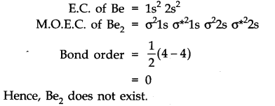 NCERT Solutions for Class 11 Chemistry Chapter 4 Chemical Bonding and Molecular Structure Q35