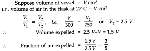 NCERT Solutions for Class 11 Chemistry Chapter 5 States of Matter Q11