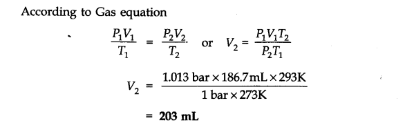 NCERT Solutions for Class 11 Chemistry Chapter 5 States of Matter Q6.1