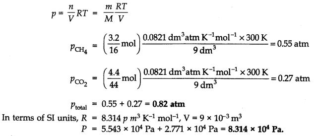 NCERT Solutions for Class 11 Chemistry Chapter 5 States of Matter Q7