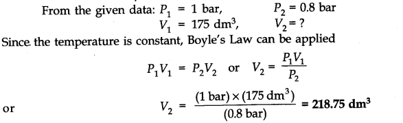 NCERT Solutions for Class 11 Chemistry Chapter 5 States of Matter SAQ Q1