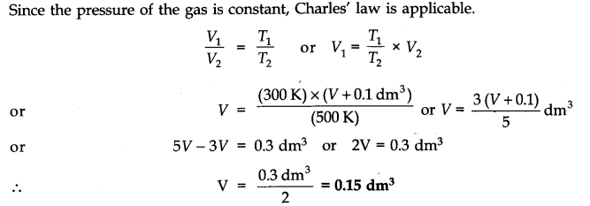 NCERT Solutions for Class 11 Chemistry Chapter 5 States of Matter SAQ Q3