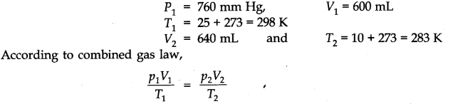 NCERT Solutions for Class 11 Chemistry Chapter 5 States of Matter SAQ Q5