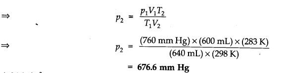 NCERT Solutions for Class 11 Chemistry Chapter 5 States of Matter SAQ Q5.1